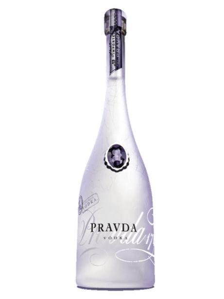 Vodka Pravda offre à 24,75€