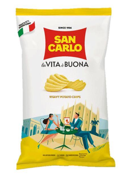 Chips San Carlo Croccante 50GR offre à 1,7€