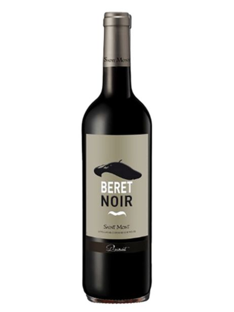 BERET NOIR ST MONT      2018 offre à 6,45€