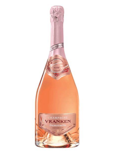 Champagne Vranken Cuvée Demoiselle Rosé Brut offre à 28€
