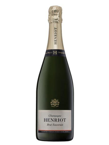 Champagne Henriot Brut Souverain offre à 40,95€