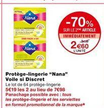 Protège-lingerie voile si Discret offre à 3,99€