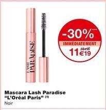 Mascara lash Paradise  offre à 11,19€