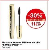 Mascara volume millions de cils  offre à 11,19€