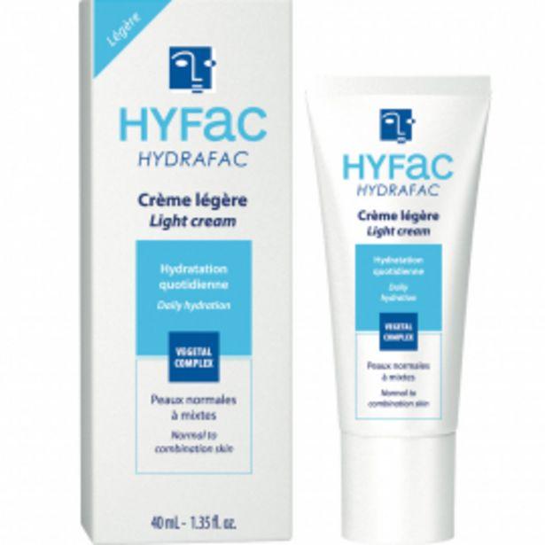 Crème légère – Hydrafac offre à 3€