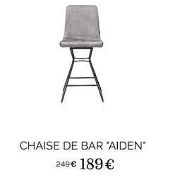 Chaise de bar AIDEN offre à 189€