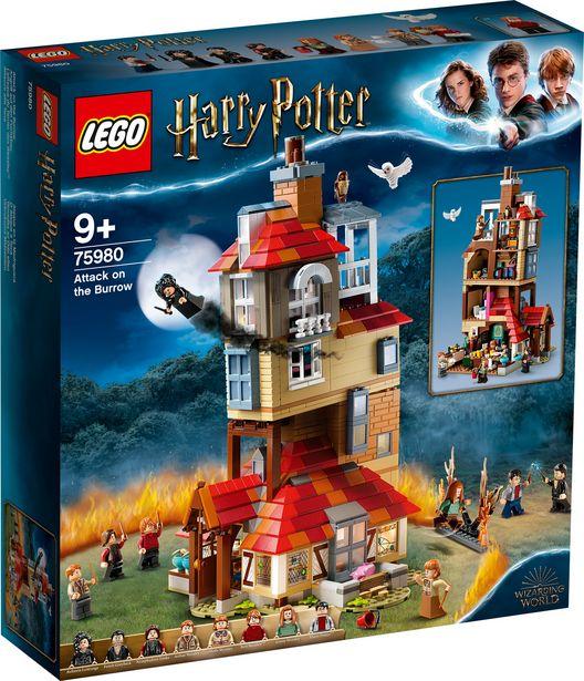 L'attaque du Terrier des Weasley™ - LEGO Harry Potter - 75980 offre à 109,99€