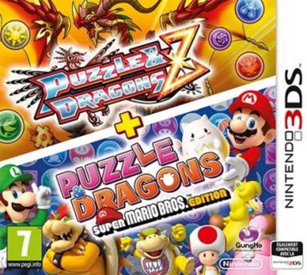 Puzzle & Dragons Mario Edition (3DS) offre à 9€