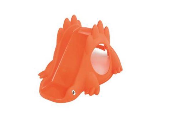 Toboggan Dino orange offre à 25,49€