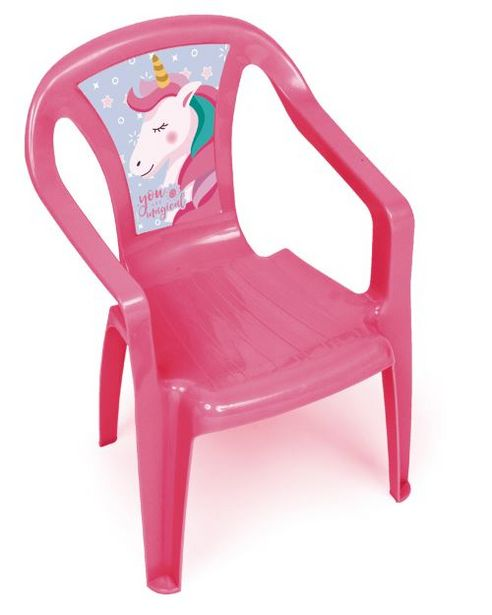Chaise plastique Licorne offre à 8,99€