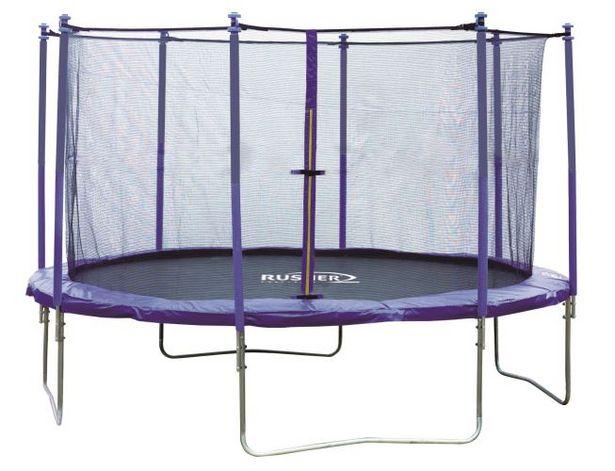 Trampoline rond 366 cm avec filet de sécurité offre à 183,99€
