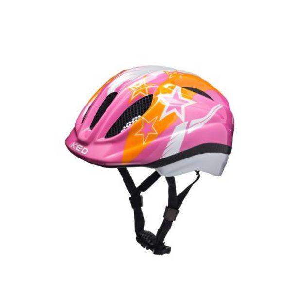 Casque vélo enfant Meggy Pink Stars - Taille S/M offre à 12,5€