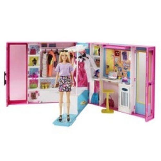 Barbie et son Dressing DeluxeMattel offre à 59,98€