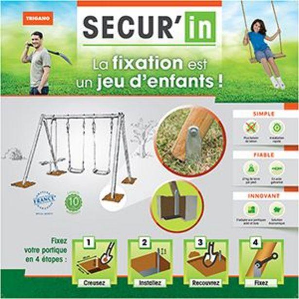 Kit de fixation Secur'In offre à 31,99€