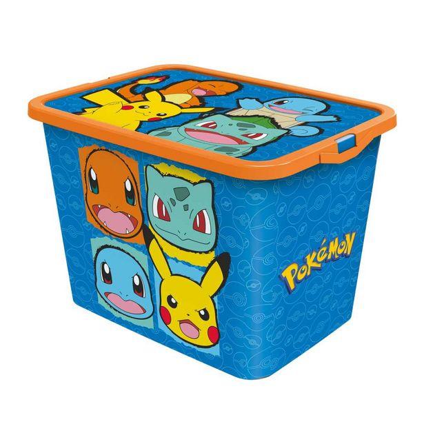 Boîte de rangement 23L Pokémon offre à 11,99€
