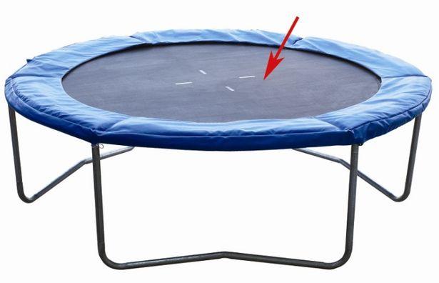 Tapis de saut pour trampoline de 244 cm offre à 24,99€