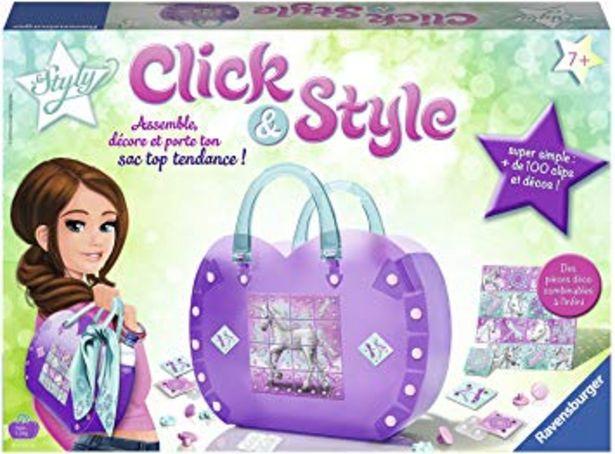 Click & Style - Sac à main licorne à customiser offre à 10€