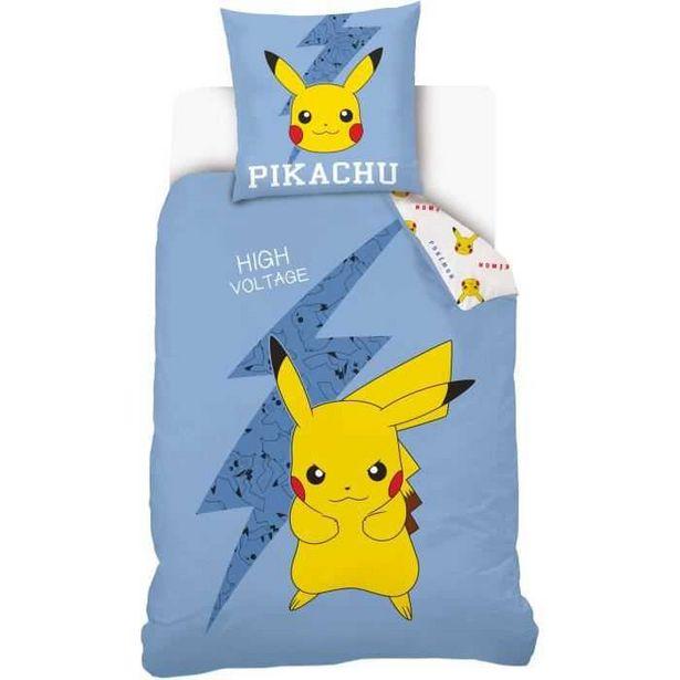 Pokémon - Parure de couette Pikachu High Voltage offre à 34,99€