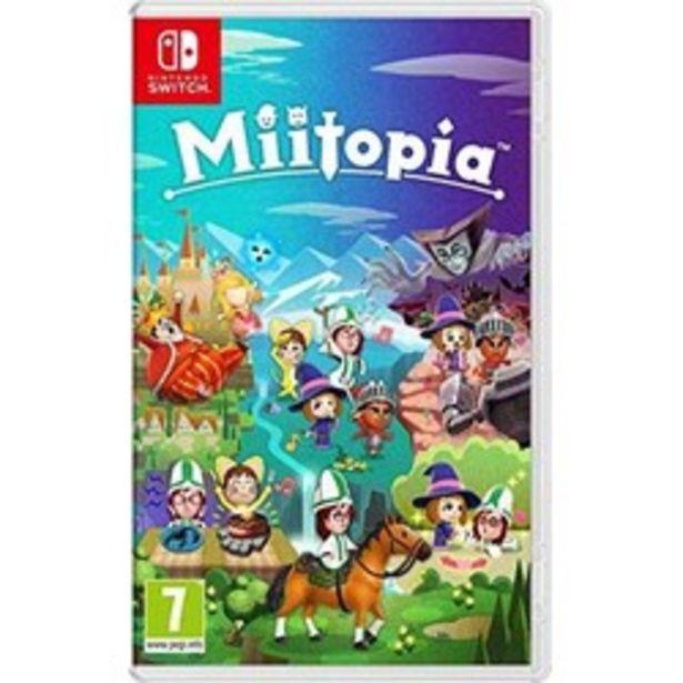 Miitopia (Nintendo Switch)Nintendo Switch offre à 49,98€
