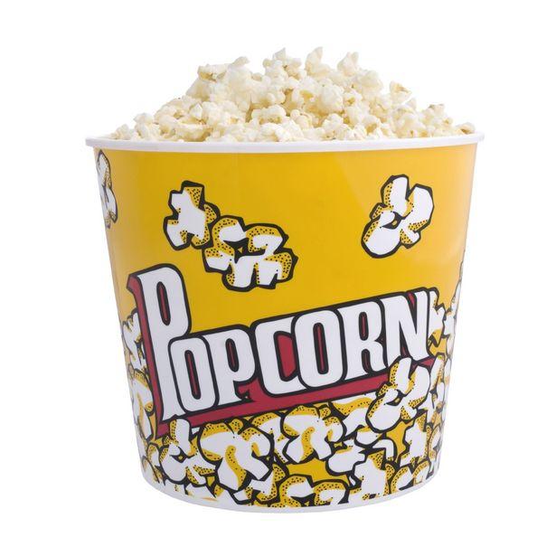 Pot à pop corn jaune  2,8L offre à 2,9€