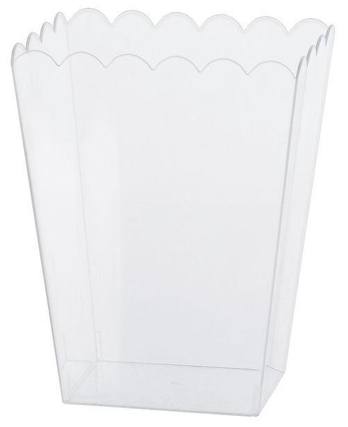 Pot à pop corn en plastique transparent offre à 3,99€