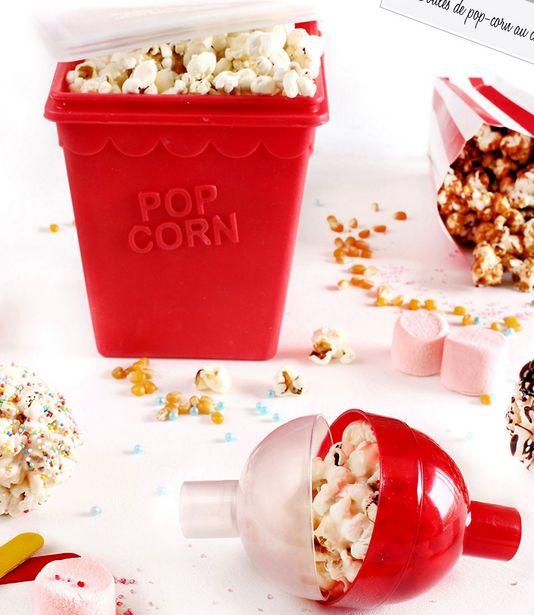 Pot et boule à pop corn offre à 10,5€
