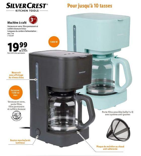 Machine à café offre à 19,99€
