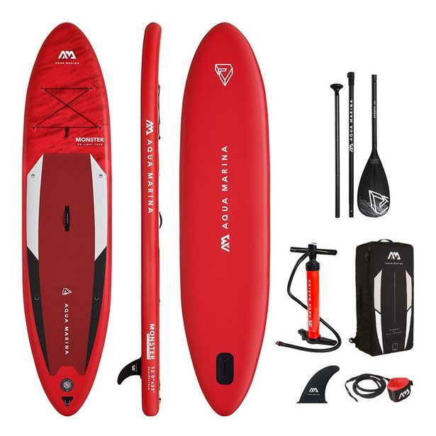 PACK PADDLE AQUAMARINA - MONSTER 12' - 2021 offre à 379€
