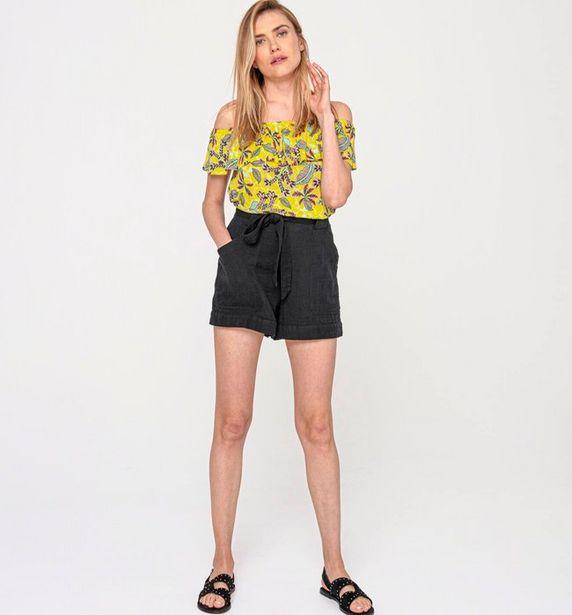 T-shirt à encolure Bardot offre à 7€