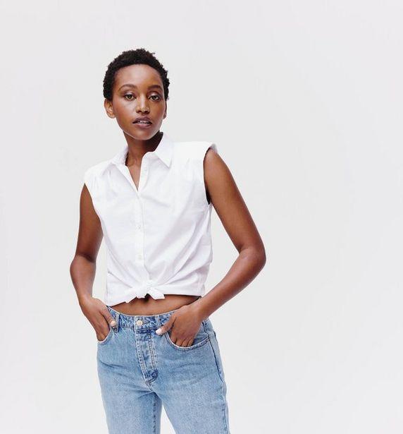 Chemise à épaulettes Femme offre à 18,16€