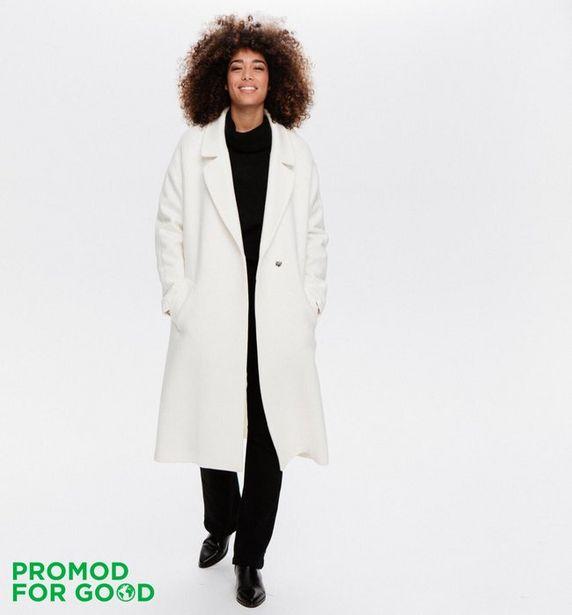 Long manteau en laine Femme offre à 70€