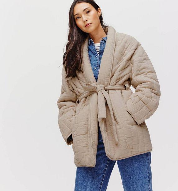 Longue veste matelassée Femme offre à 27,47€