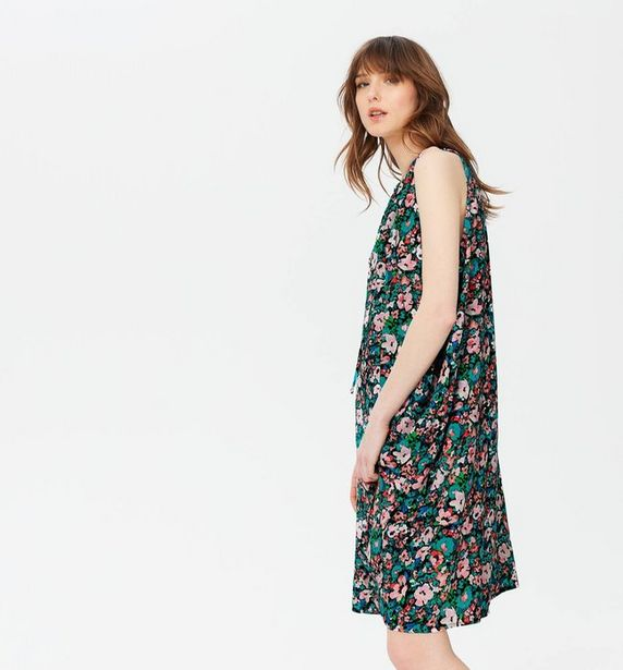 Robe viscose sans manche Femme offre à 27,96€