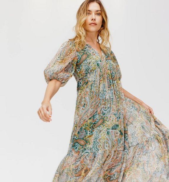 Longue robe imprimée offre à 32,47€