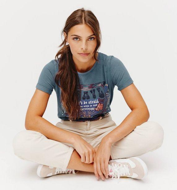 T-shirt imprimé Femme offre à 10,46€