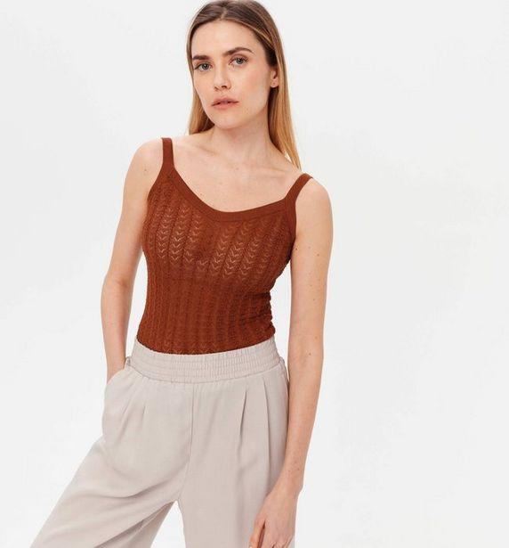 Débardeur en tricot ajouré offre à 5,98€