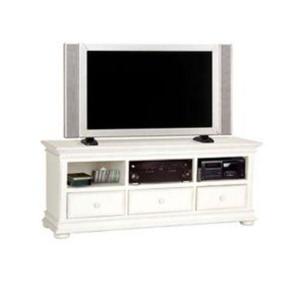Meuble TV blanc avec rangements - Harmonie offre à 612,65€