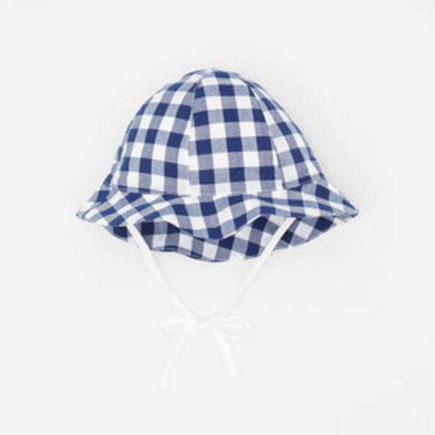 Chapeau bébé garçon en Vichy offre à 13,3€