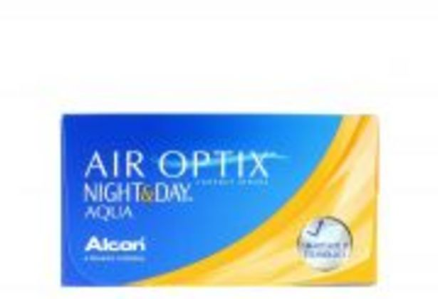 Lentilles de contact ALCON AIR OPTIX AQUA NIGHT & DAY (6) offre à 50€