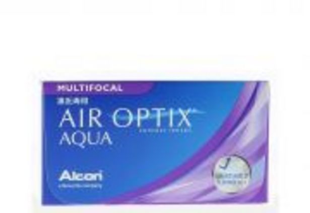 Lentilles de contact ALCON AIR OPTIX AQUA MULTIFOCAL 3 lentilles offre à 35€