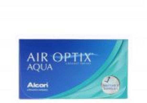 Lentilles de contact ALCON AIR OPTIX AQUA offre à 23€