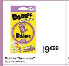 """Dobble """"Asmodee"""" offre à 9,99€"""