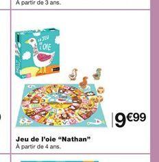 """Jeu de l'oie """"Nathan"""" offre à 9,99€"""