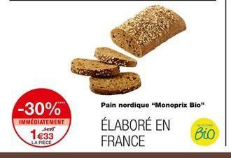 Pain nordique offre à 1,33€