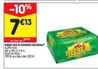 Bière des flandres Helbrau offre à 7,13€