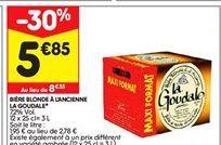 Bière Blonde à l'ancienne  offre à 5,85€
