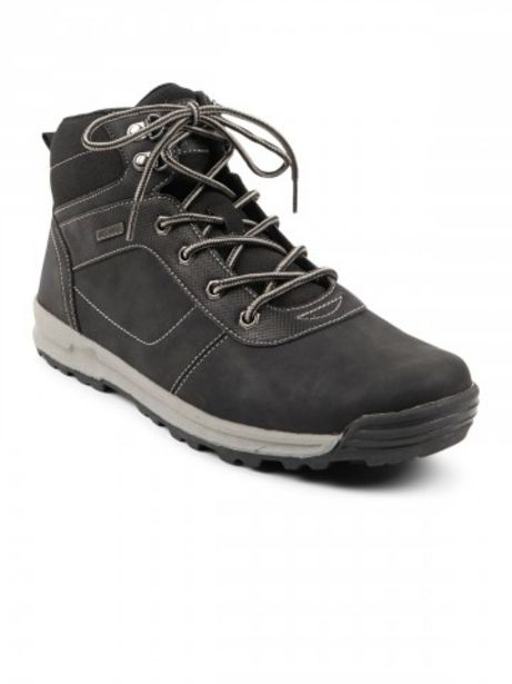 Boots homme coloris noir (40-45) offre à 15€