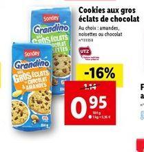 Biscuits au chocolat offre à 0,95€