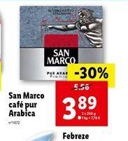 San Marco café pur arabica  offre à 3,89€