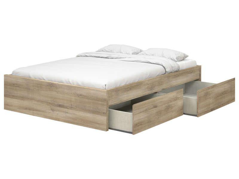 Lit Multibox 140 cm offre à 197,85€